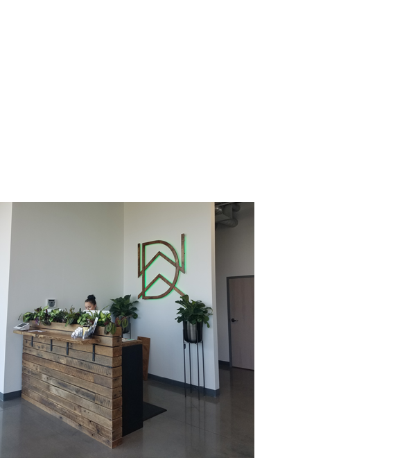 Photo of reception counter